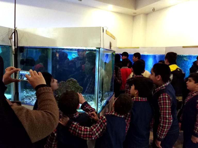 بازدید علمی تفریحی دانش آموزان