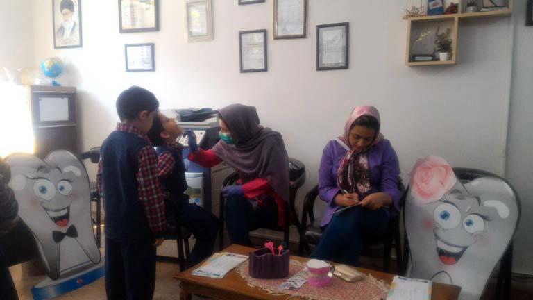 بررسی دوره ای سلامت دندان دانش آموزان